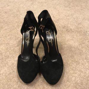 Cute Jessica Simpson strappy heels